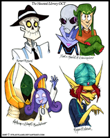 Haunted Library Round 1 Prizes - Batch 2 by StrayFlame