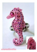 Seahorse Ring by xsweettoothx