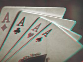 4 Aces 3-D conversion by MVRamsey