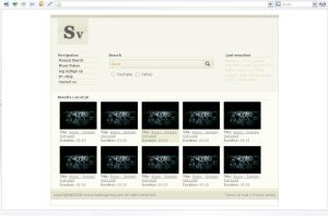 Search Video Layout by LuDesign