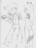 Giftart - Your Wing or the Pie by Denna