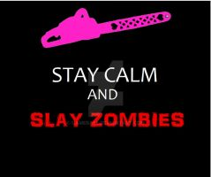 Lollipop Chainsaw Motivational: Stay Calm and ... by gamera68