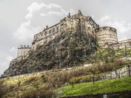 Edinburgh castle by videoai