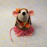 Flower Power Mouse by The-House-of-Mouse