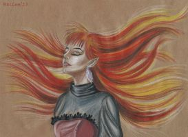 red hair by HellenManson
