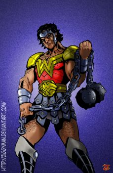 Wonder Warrior Man or something like that by Ziggyman
