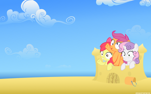 Cutie Mark Insanity Wallpaper by Adiwan