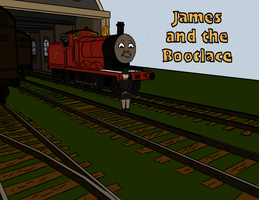 James and the Bootlace by Goldwoodthomas
