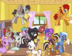 Cleaning The Clubhouse by Bukoya-Star