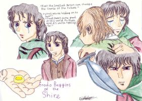 Frodo Baggins of the Shire by HaloSon