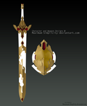 Sword and Shield of Hope (AUCTION OPEN) by Maximum-Simplicity