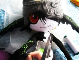 Midna wip plush by chocoloverx3