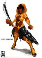 Zulu Warrior by MONSTA-E