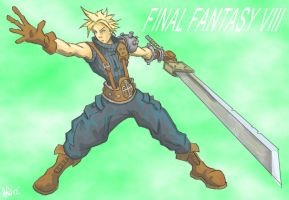 cloud strife by yanharrison