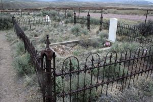 Bannack Cemetery 28 by Falln-Stock
