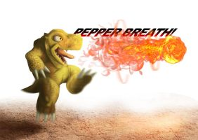 Pepper Breath: Agumon Redux by Mearns
