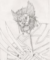 Wolverine ucoulored BNS by Sabrerine911