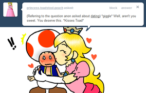 Tell Toad - Kiss by pocket-arsenal