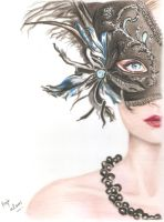 MaSqUeRaDe gIrL by Fajralam