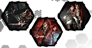 Resident Evil: Revelations 2 by WE4PONX