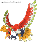 Ho-Oh v.3 by Xous54