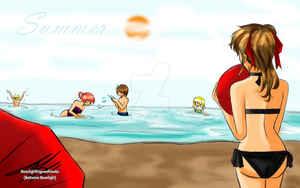 Summer 09 by MoonlightKagome