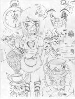 alice in wonderland? by Hyst3ria20