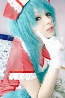 Cosplay Miku Hatsune - Love Ward by IchikoXares