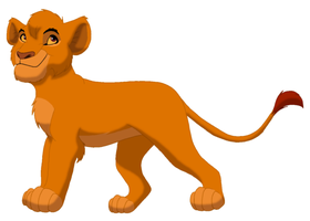 Mufasa as a Cub by lionobsession