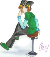 Character design product:Perry by VesteNotus