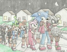 Sonic Halloween 2013 by Bluzooka51