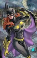 Batgirl colored by hanzozuken