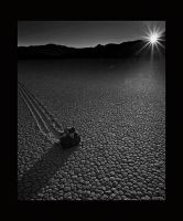 Death Valley,bw by Brettc