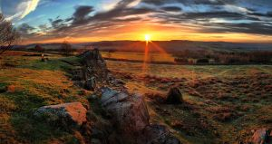Sunset Over Charnwood Forest by ChrisDonohoe