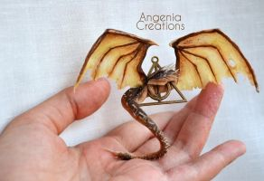 Harry potter hungarian horntail by AngeniaC