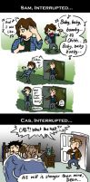 Supernatural: Interruptions by blackbirdrose