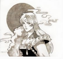 Sesshomaru by Chucky-tan