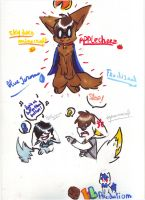 EINSHINE SKYDOESMINECRAFT and  BLUEJEROME fanart by lucie45