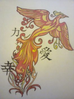 my tattoo i just drew out by 123deaththekid