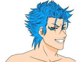 BLEACH -Grimmjow Jeaggerjaquez by MariaJHB
