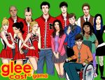 GLEE CAST by Romax25