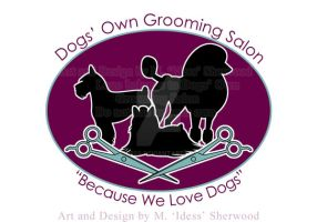 Dogs' Own Grooming Salon Logo by Idess