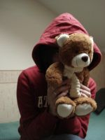 Maria with teddy bear.2 by Lukotus