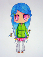 Colorful Chibi by ErisConstance