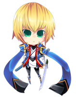 Jin Kisaragi chibi by CaptainStrawberry