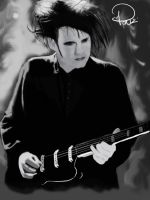 Robert Smith -The Cure- by Ponzarello