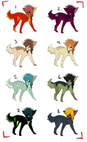 Sparkle dog adopts :TAKEN: by Kultapossu