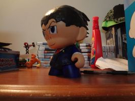 Phoenix Wright Munny by Mariofan601