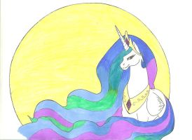 ~_Princess Celestia of the Rising Sun_~ by Ila-Mae