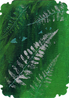 ATC: Fern Nymph 4 of 4 by GillianIvy